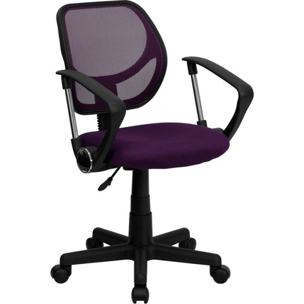Flash Furniture Low-Back Mesh Task Chair with Arms
