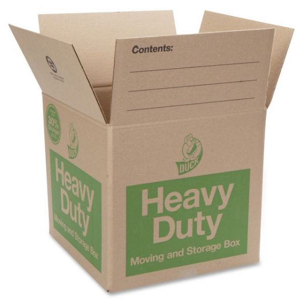 Duck Brand Heavy-Duty Moving & Storage Box
