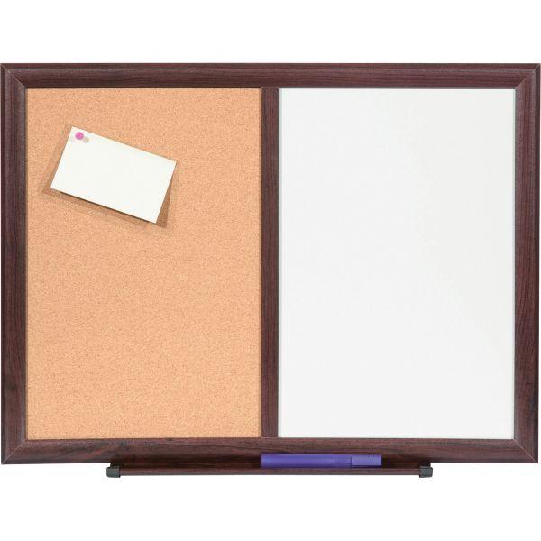 Lorell Combo Dry-Erase/Bulletin Board