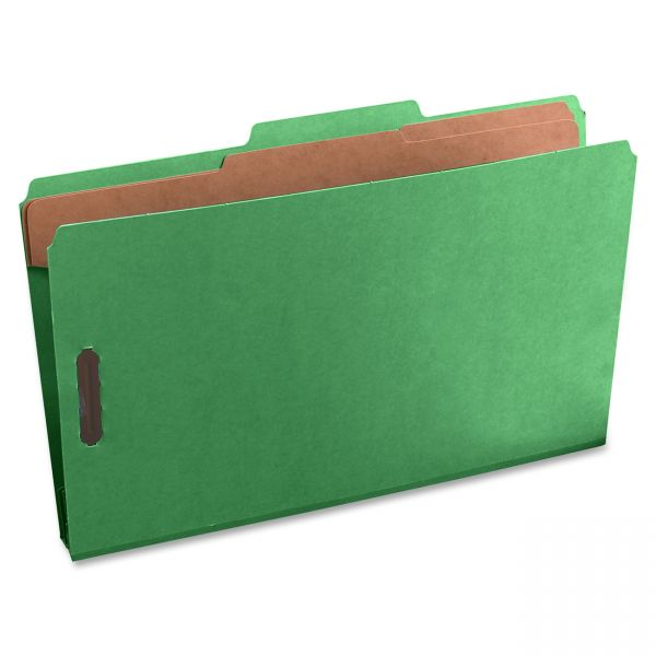 Oxford 2-Divider PressGuard Classification Folders
