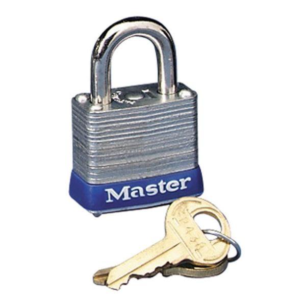 Master Lock Four-Pin High Security Keyed Padlock