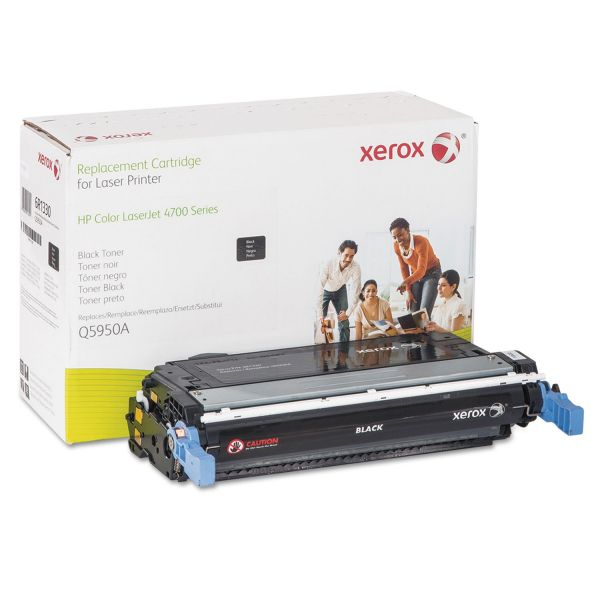 Xerox Remanufactured HP Q5950A Black Toner Cartridge