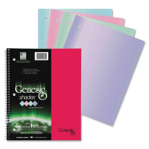 Roaring Spring Enviroshades One-Subject Notebook