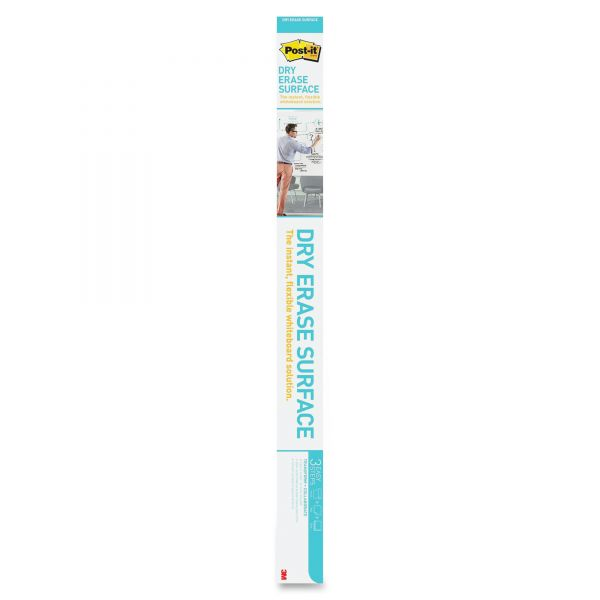 Post-it 6' x 4' Dry Erase Surface with Adhesive Backing