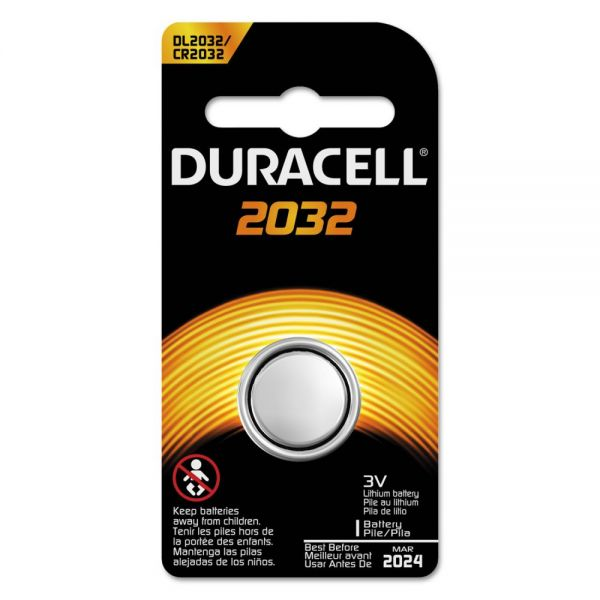 Lithium Dl2032 Button Cell Battery for Electronics, 3v, 6 per box