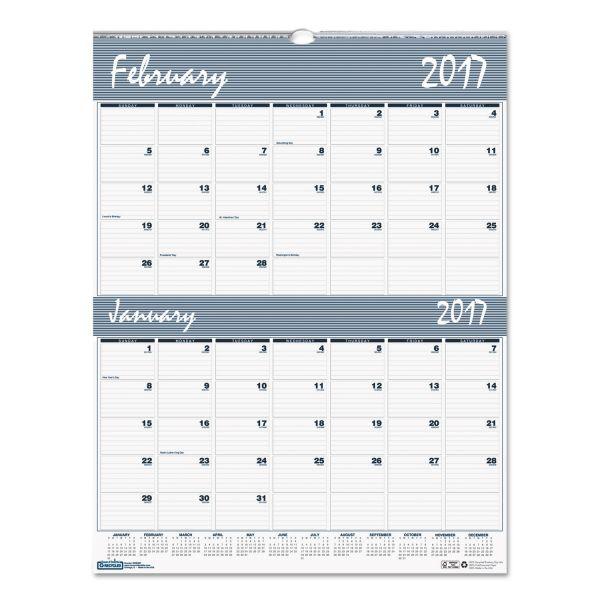 House of Doolittle Bar Harbor 2-Month Wall Calendar