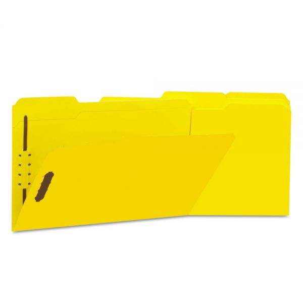 Universal Top-Tab File Folders With Fasteners