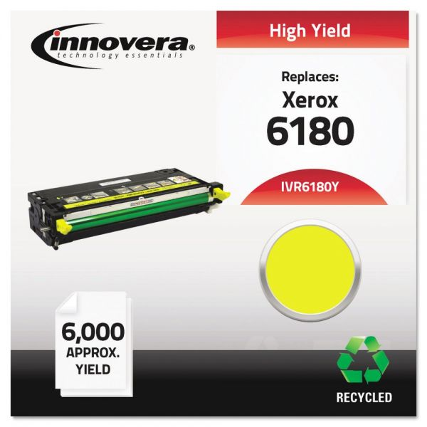 Innovera Remanufactured 113R00725 (6180) High-Yield Toner, Yellow