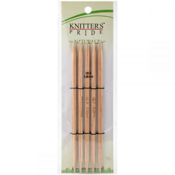 Naturalz Double Pointed Needles 6""