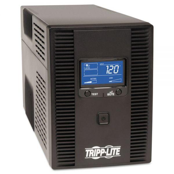Tripp Lite SMART1500LDT Digital LCD UPS System, 10 Outlets, 1500 VA, 650 J