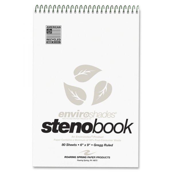 Enviroshades Perforated Steno Pads
