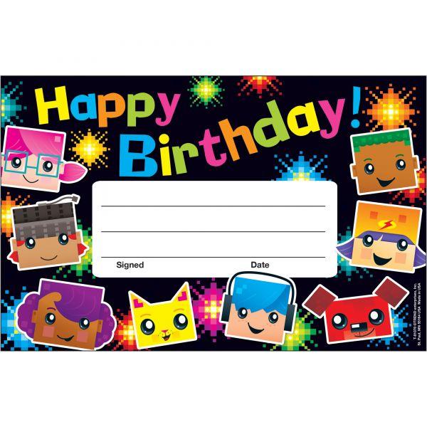 Trend Birthday BlockStars! Recognition Awards