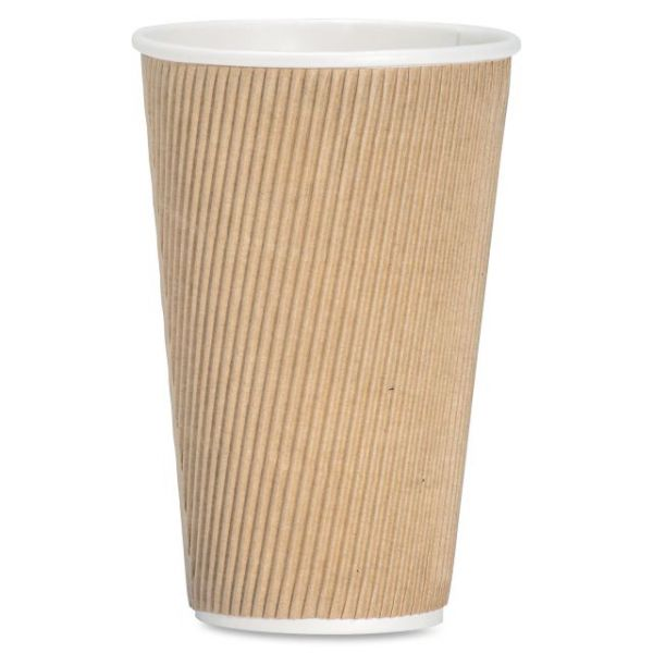 Genuine Joe Ripple 16 oz Coffee Cups
