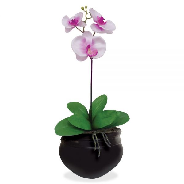 Glolite Nu-dell NuDell Artificial Orchid Plant