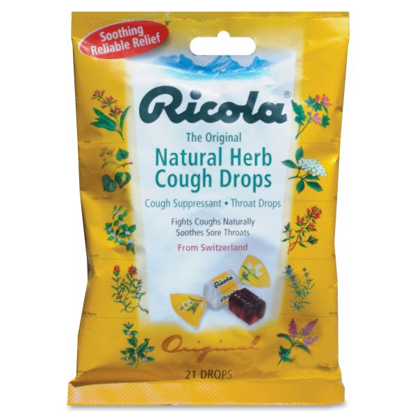 Ricola Natural Cough Drops