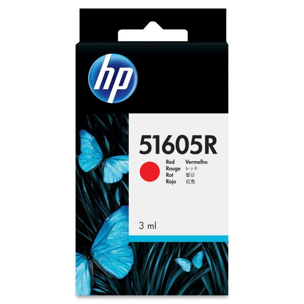 HP 51605R Red Ink Cartridge