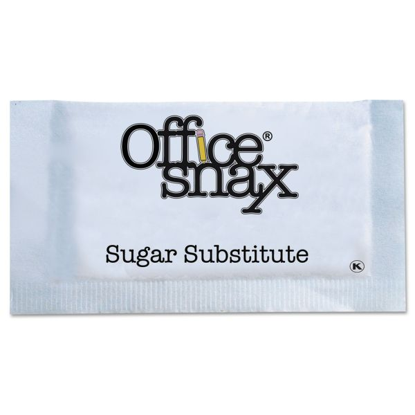 Office Snax Blue Sweetener, 2000 Packets/Carton