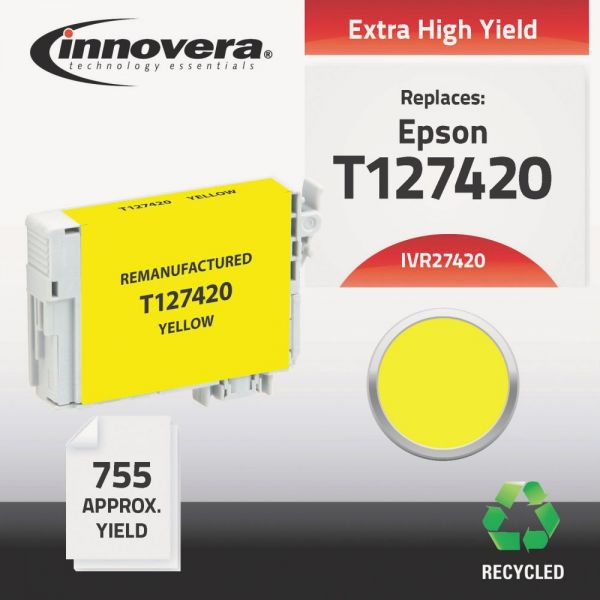 Innovera Remanufactured Epson 127 (T127420) Ink Cartridge