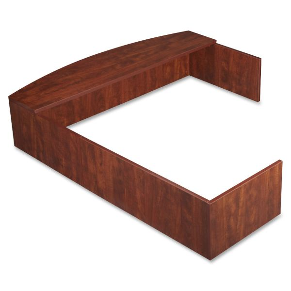 Lorell Essentials Series L-Shaped Reception Counter