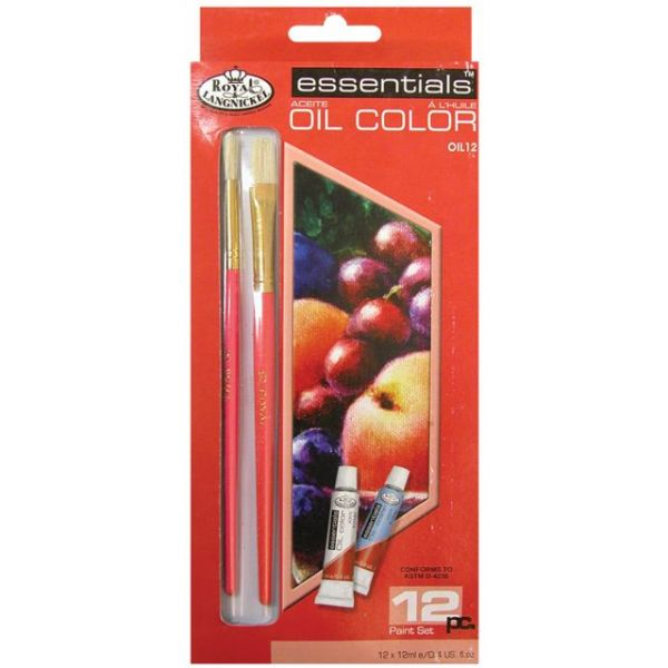 Essentials Oil Paints Set