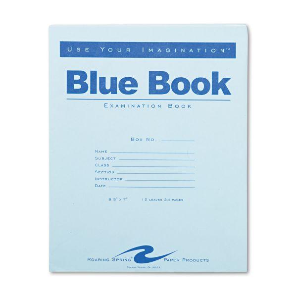 Roaring Spring Exam Blue Book