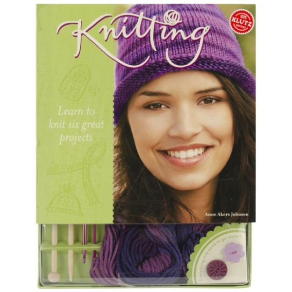 Knitting Book Kit