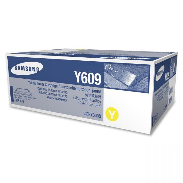 Samsung Y609 Yellow High Yield Toner Cartridge