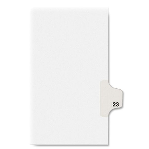 Kleer-Fax Legal Index Dividers