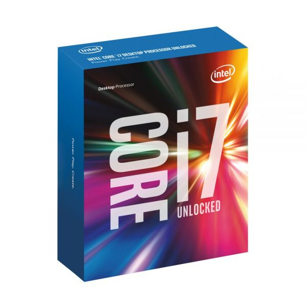 Intel Core i7-6700K Processor 4GHz 8MB Cache LGA1151 Boxed Without Heatsink and Fan