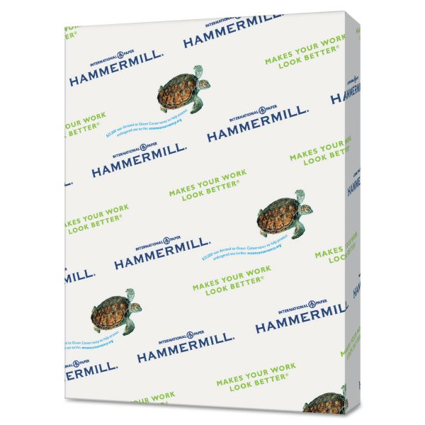 Hammermill Recycled Colored Paper, 20 lb, 11 x 17, Tan, 500 Sheets/Ream
