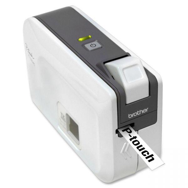 Brother P-touch PT-1230PC Thermal Transfer Printer - Monochrome - Desktop