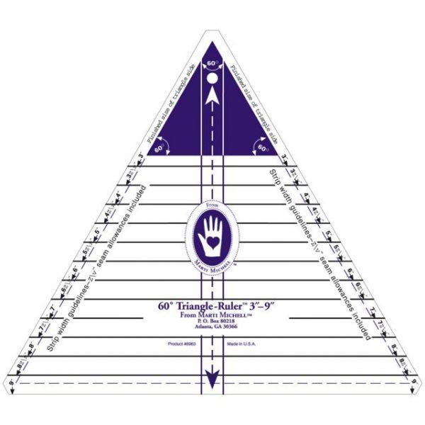 60 Degree Triangle Ruler