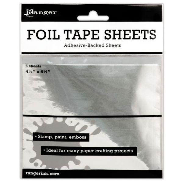 Inkssentials Metal Foil Tape Sheets 6/Pkg