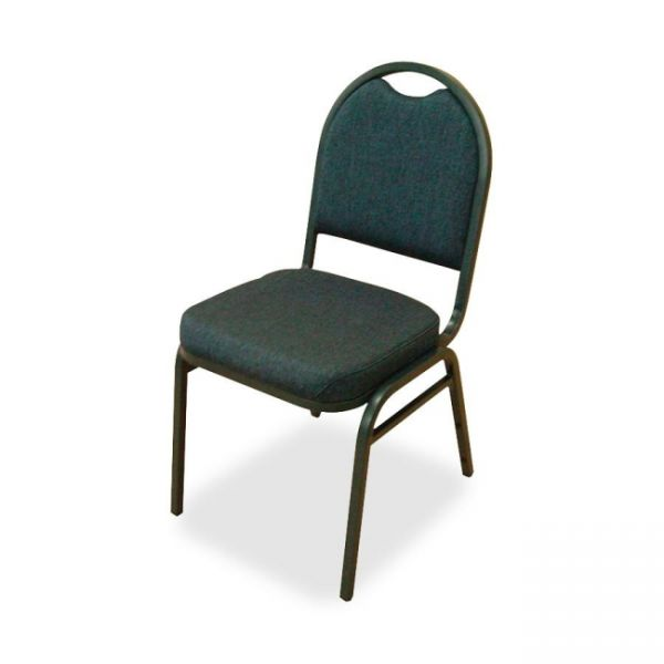 Lorell Round-Back Stacking Chairs