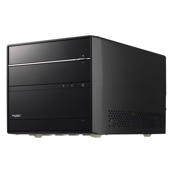 Shuttle XPC SH170R6 Barebone System Mini PC - Intel H170 Express Chipset - Socket H4 LGA-1151 - Black Aluminum