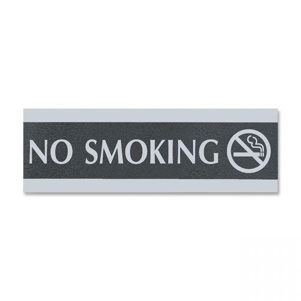 """U.S. Stamp & Sign """"No Smoking"""" Sign"""