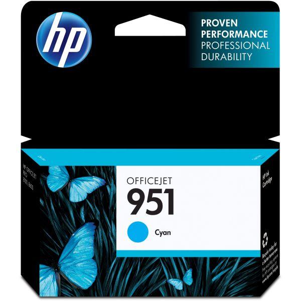 HP 951 Cyan Ink Cartridge (CN050AN)
