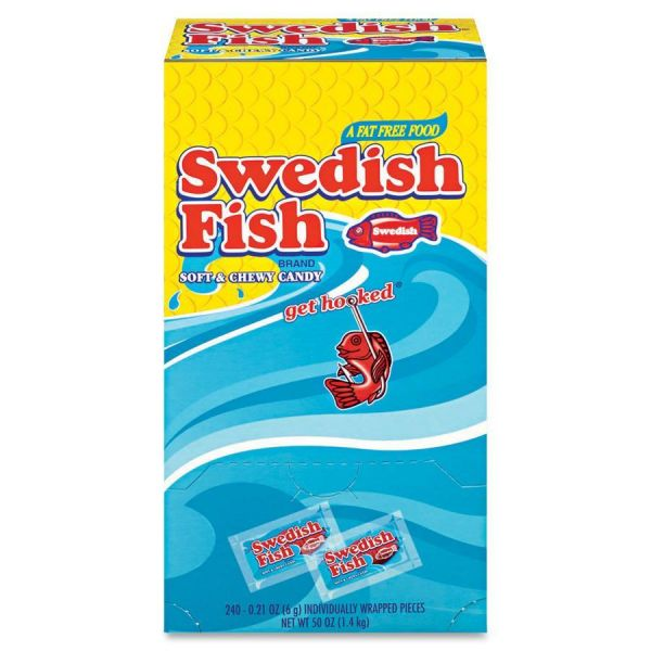 Swedish Fish Individually Wrapped Soft & Chewy Candy