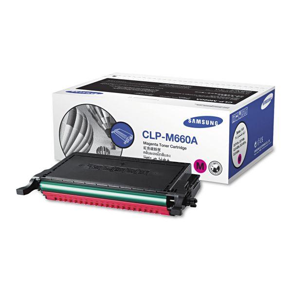 Samsung CLP-M660A Magenta Toner Cartridge