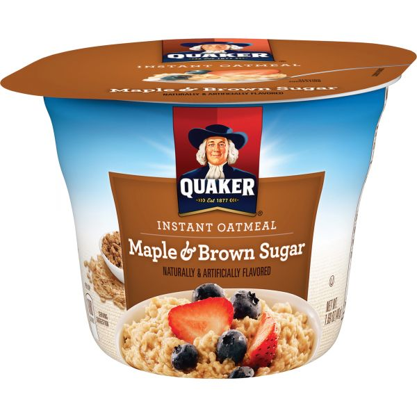 Quaker Microwavable Oatmeal Express Cup