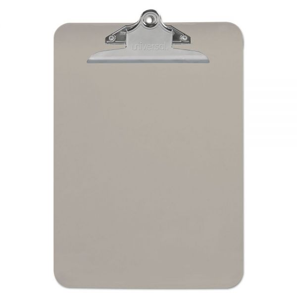 Universal Plastic Clipboard with High Capacity Clip