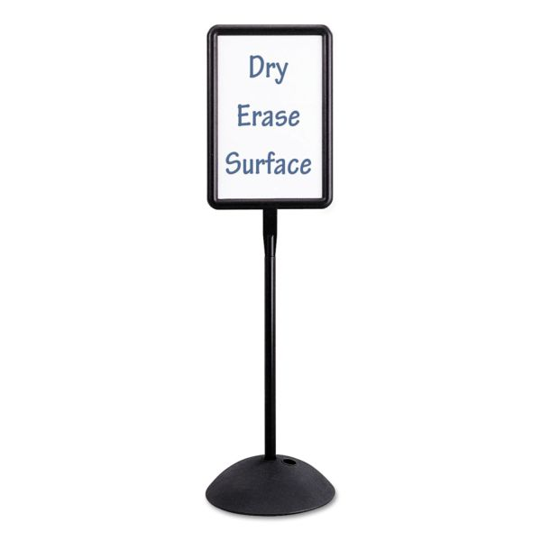 Safco Write Way Double Sided Dry-Erase Sign