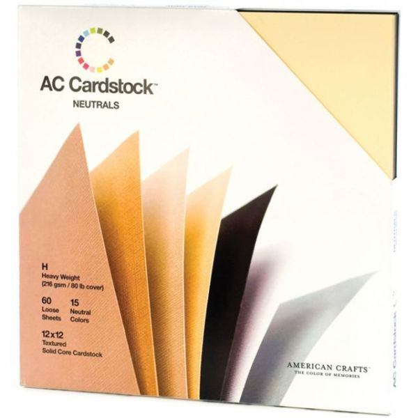 American Crafts Seasonal Cardstock Pack