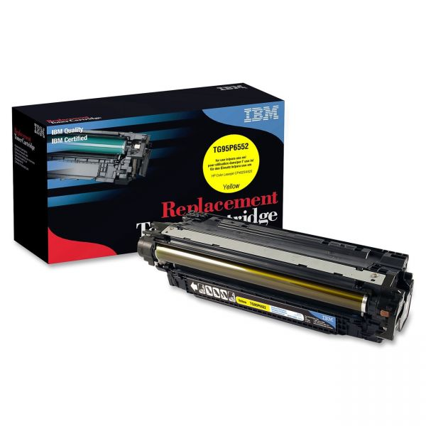 IBM Remanufactured HP CE262A Yellow Toner Cartridge