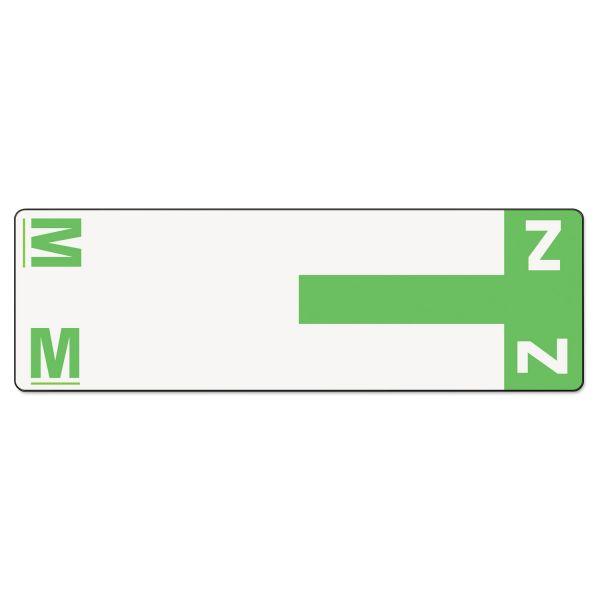 Smead AlphaZ NCC Color-Coded Name Label - M & Z