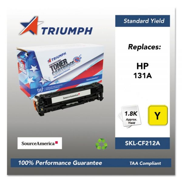 Triumph 751000NSH1400 Remanufactured CF212A (131A) Toner, Yellow