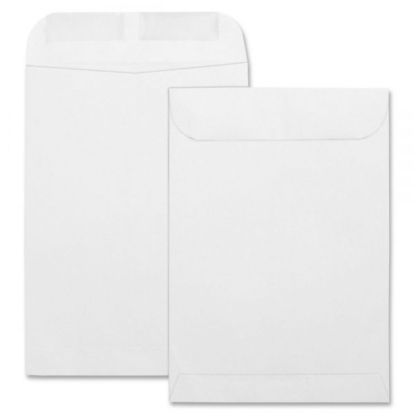 "Business Source 7 1/2"" x 10 1/2"" Catalog Envelopes"