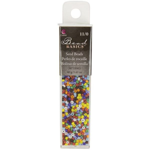 Jewelry Basics Glass Seed Beads 1.1oz