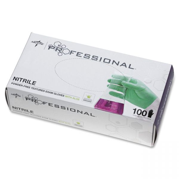 Medline Professional Series Aloetouch Gloves