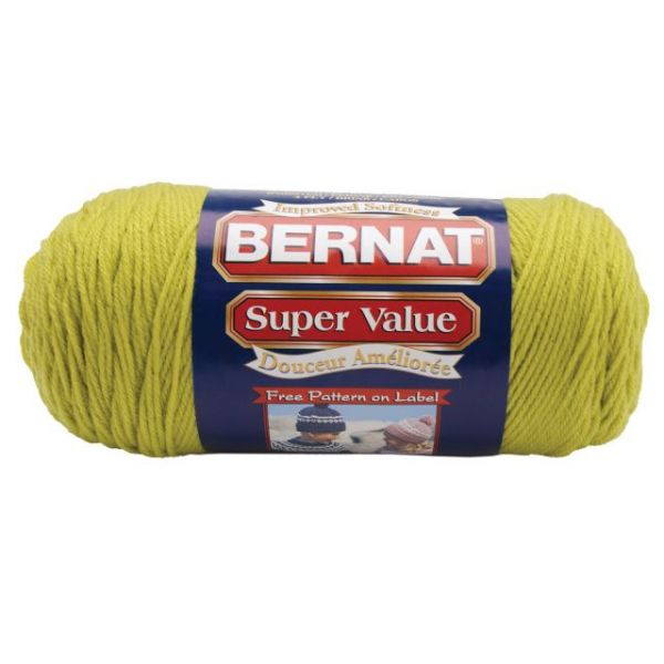 Bernat Super Value Yarn - Grass